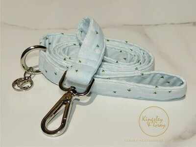 SMILEY BLUE DOG LEAD
