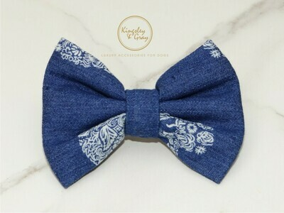 JOHNNY BONES DOG BOW TIE
