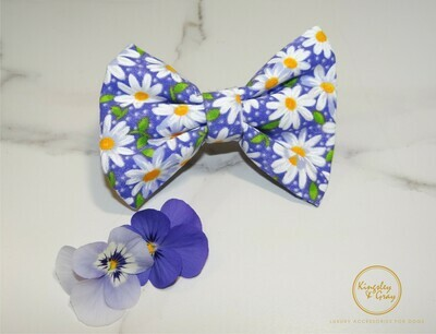 MISS DAISY DOG BOW TIE