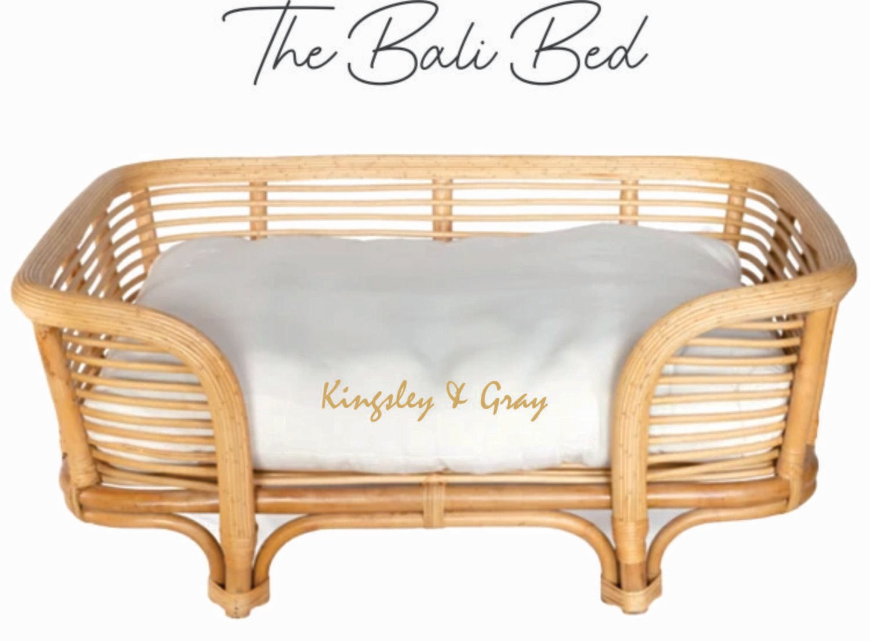 RATTAN BALI BED