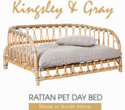 RATTAN PET DAY BED