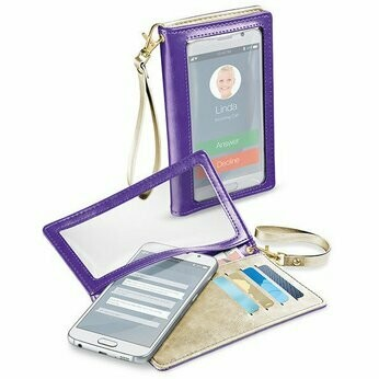 "CellularLine Touch Wallet UP to 5.2"" purple"