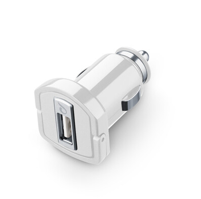 Dock Car Charger CellularLine Fast 2A-10W  White