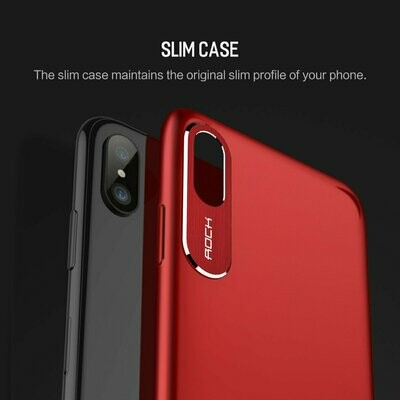 Cover Back Rock Glass Apple iPhone X