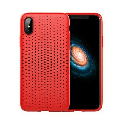 Rock Dot  Apple iPhone X Red