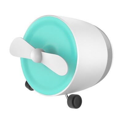 Mini Bluetooth Speaker With Fan