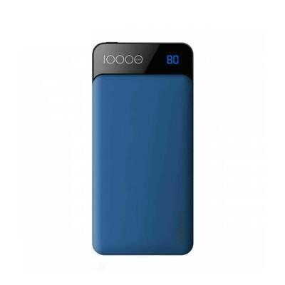 Power Bank Rock P39 (3A output)Digital Display (Type-C)- 10000 Amh Blue