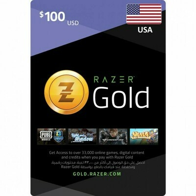 Razer Gold $100 USA