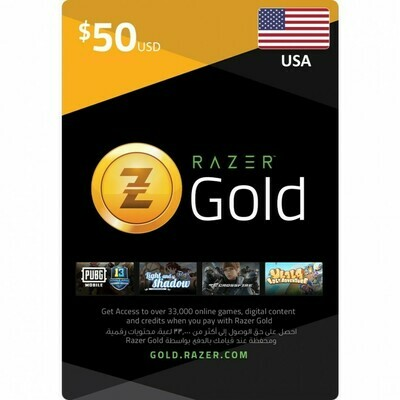 Razer Gold $50 USA
