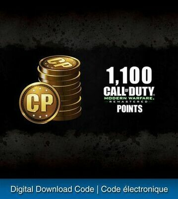 1,100 CALL OF DUTY: MODERN WARFARE POINTS