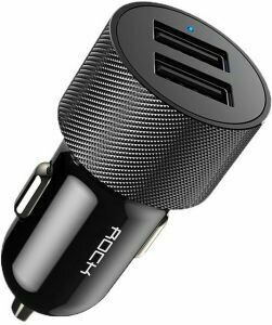 Rock Car Charger H3 black