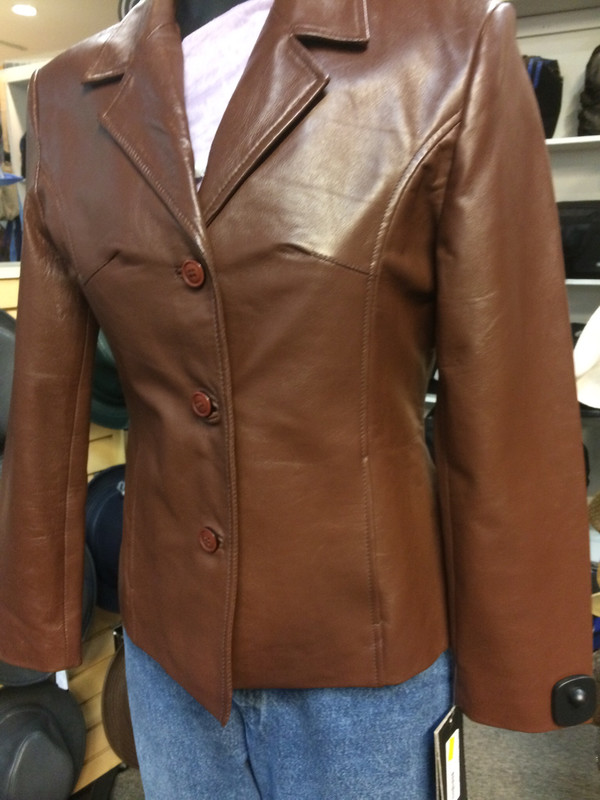 Ladies Lamb Leather Jacket