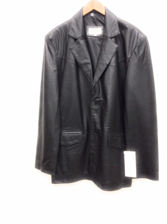 Men Leather Jacket Cow Hi