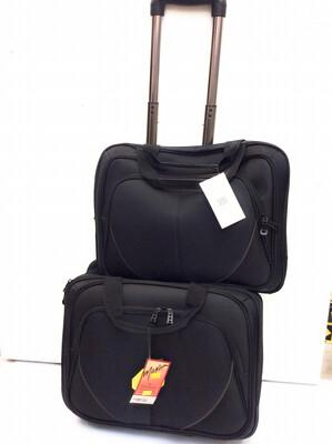 2 Pc Trolley Bag