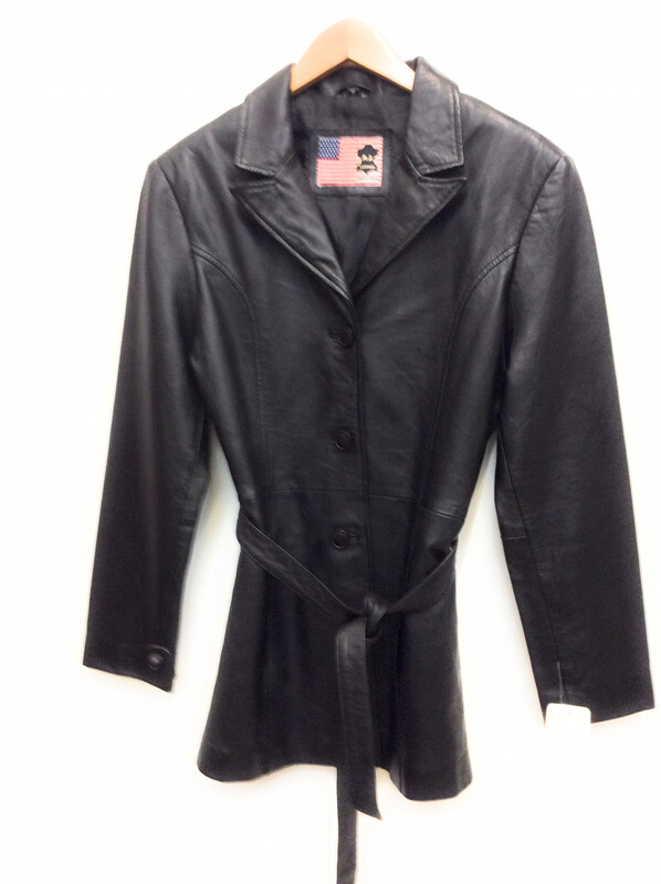 Ladies Lamb Leather Jacket Size S