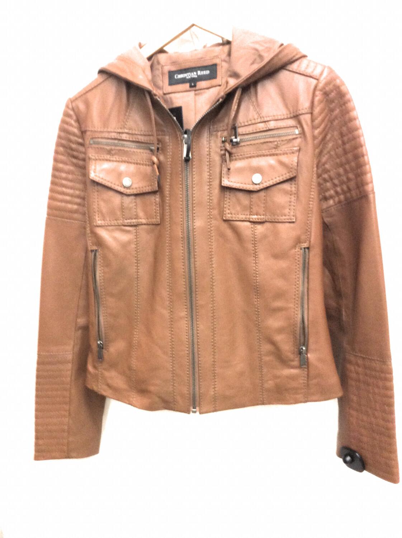 Ladies Leather Jackets Size L