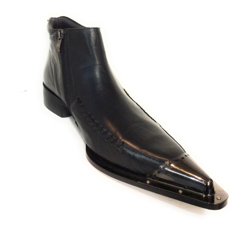 Men dress leather boots zota g4h908-5
