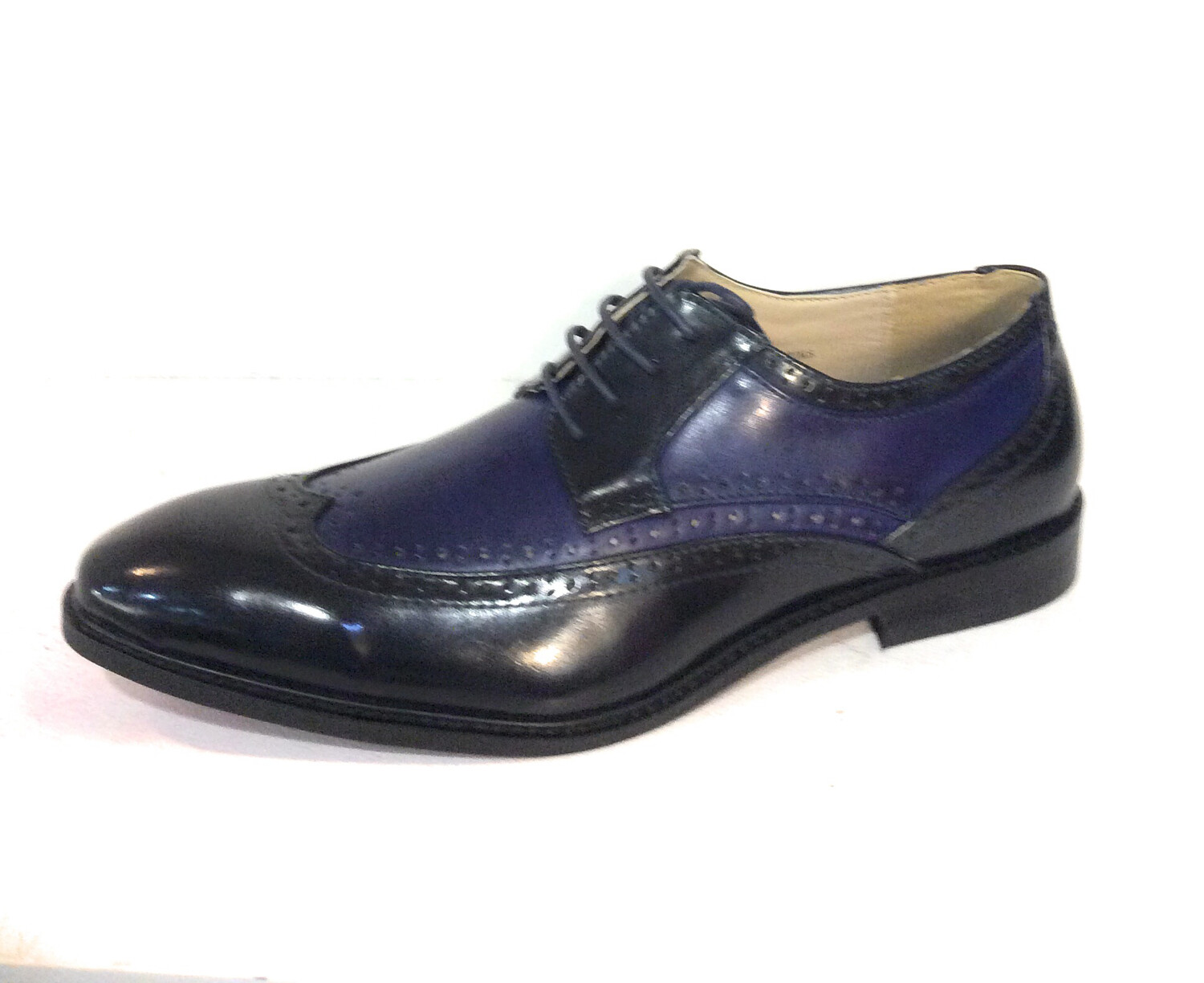 Men Shoe Navy And Blue