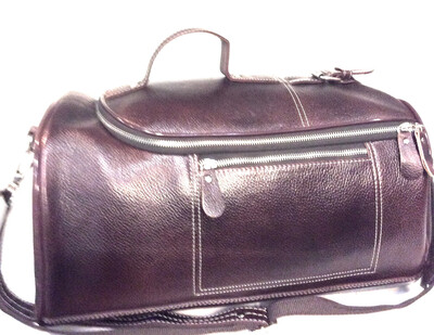 Real Leather Travel Bag