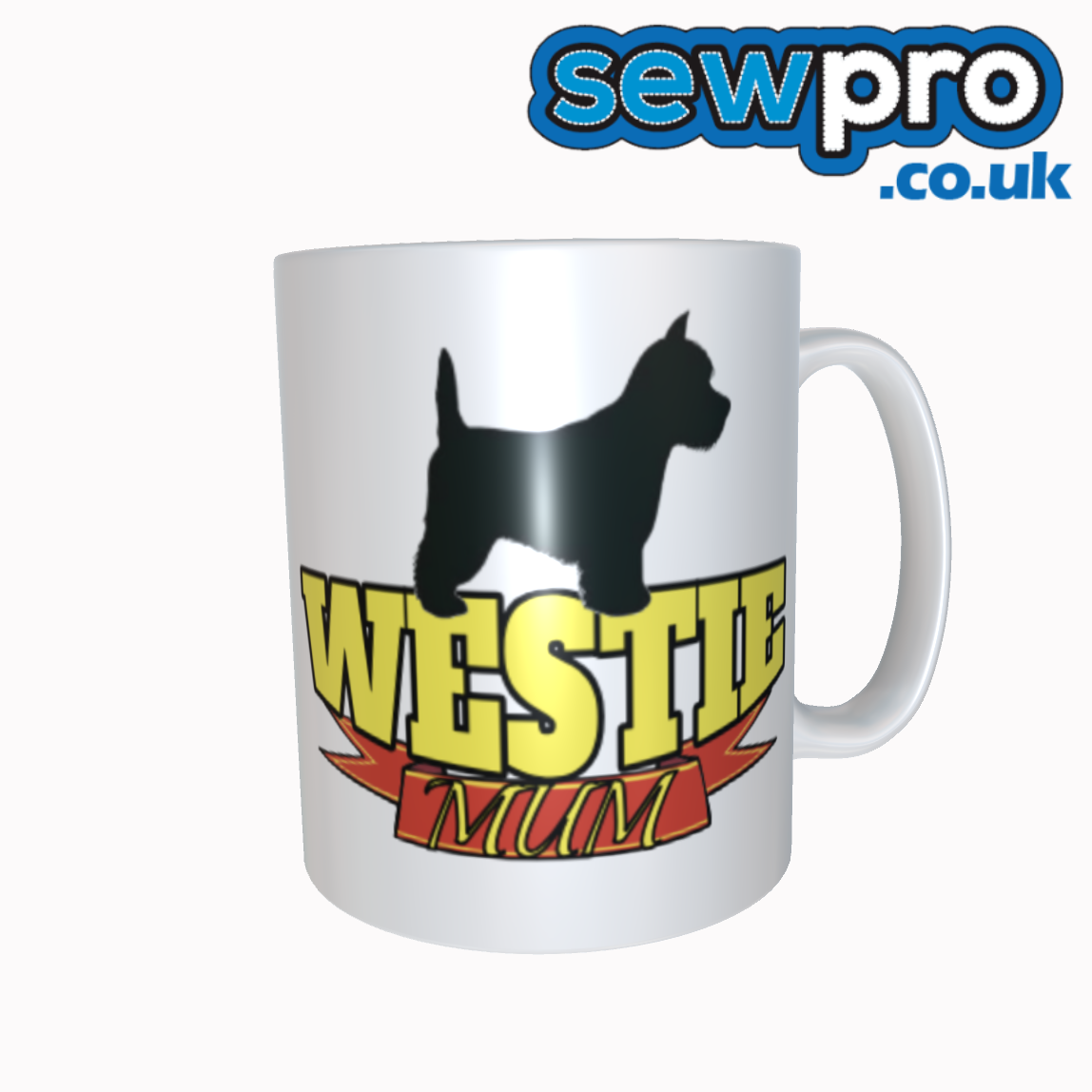 Westie Mum Tea / Coffee Mug