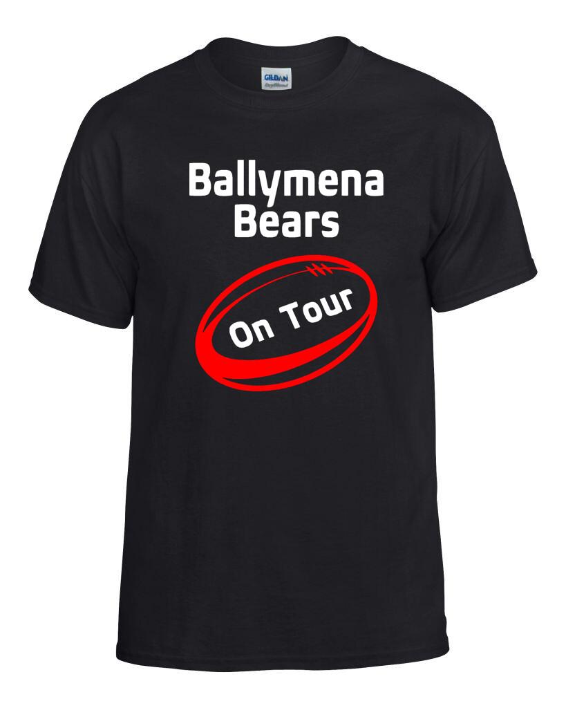 Ballymena Bears on Tour RFC Adult Heavy Blend T-shirt