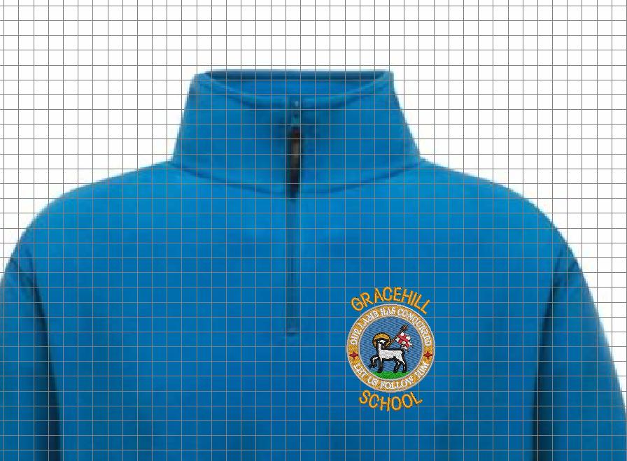 Gracehill Primary School 1/4 Zip Staff Fleece 2020