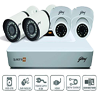 Godrej Security Solutions See Thru 1080P 4 Channel 2 Dome 2 Bullet HD CCTV Kit in Nagercoil and Kanyakumari District-Full Set