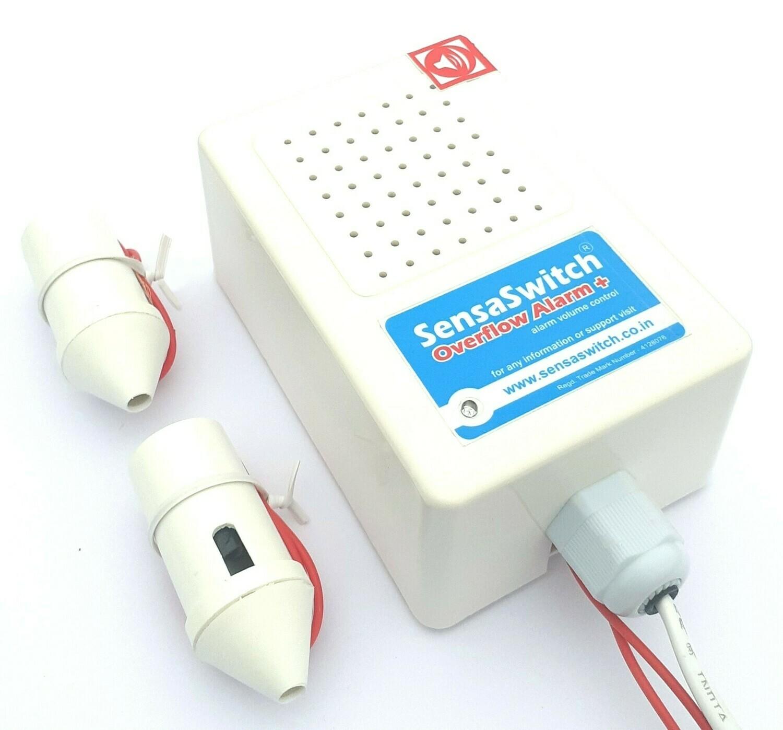 Overflow Alarm With Alarm Volume Control