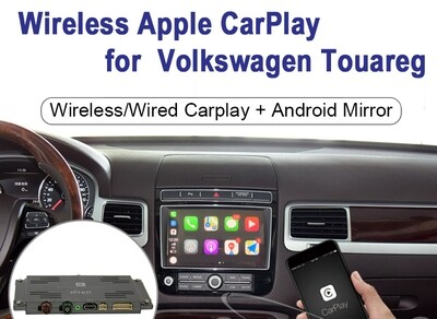 Wireless Carplay & Android Auto Upgrade Module for VW Touareg 2010-2017