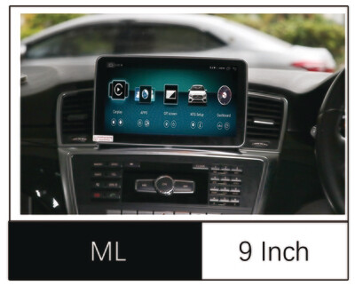 9'' Android 8.1 system Head unit Navigation Carplay For Mercedeze Benz 2012-2015 ML GL