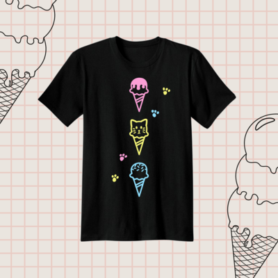 IceCat Cotton T-shirt