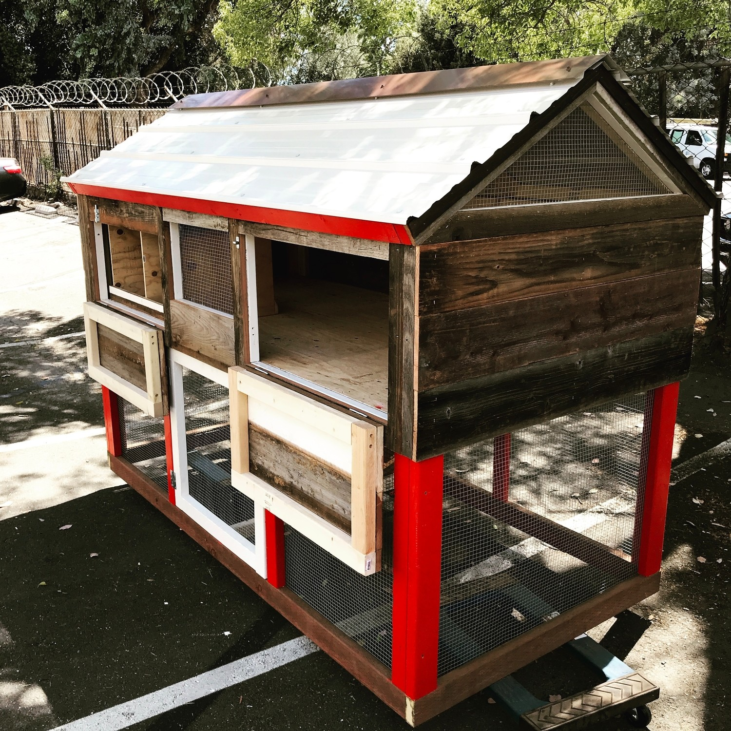 The Monterey Chicken Coop & Run