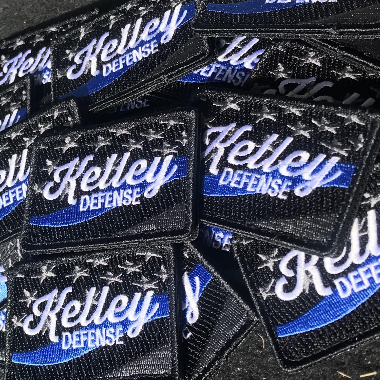 Kelley Defense Blue Line Patch