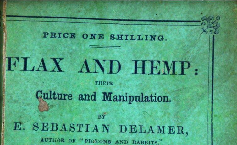 Flax and Hemp: Their Culture and Manipulation