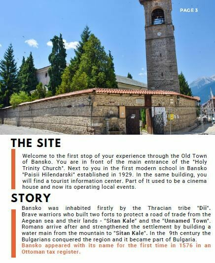 Self-Guided Bansko Old Town Tour