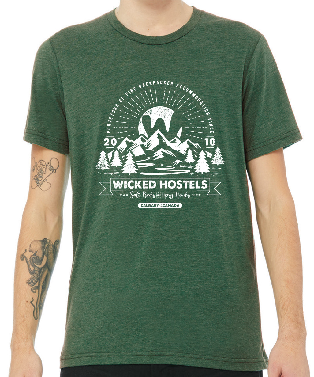 Green Wicked Tee