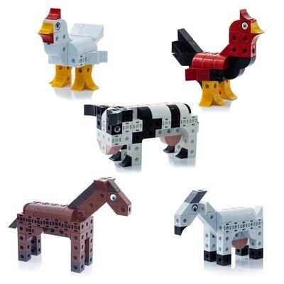 Zoo Cubics Caballos (Armatodo)