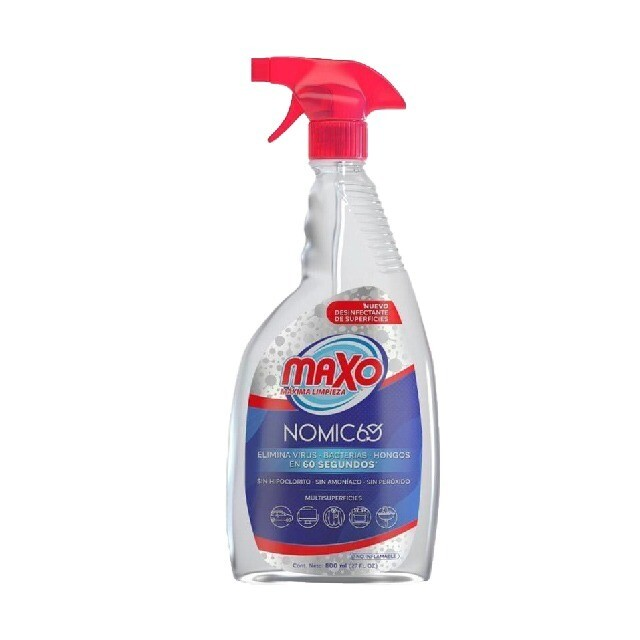 NUEVO Desinfectante Spray NOMIC 60 - Anti COVID 19