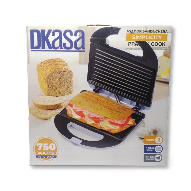 Asador Sanduchera Simplicity Practik Cook 750w Dkasa