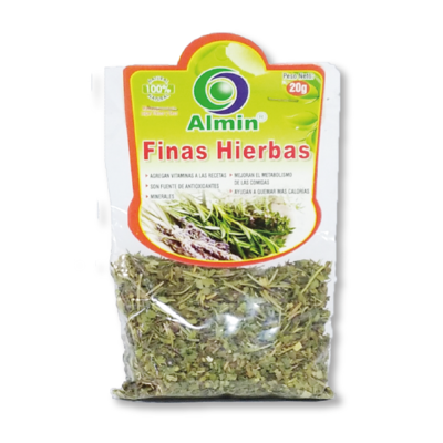 Finas Hierbas Secas 20g Almin