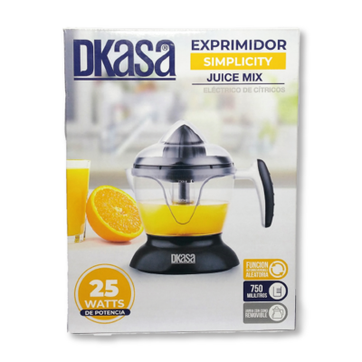 Exprimidor Cítricos Eléctrico 25w Dkasa