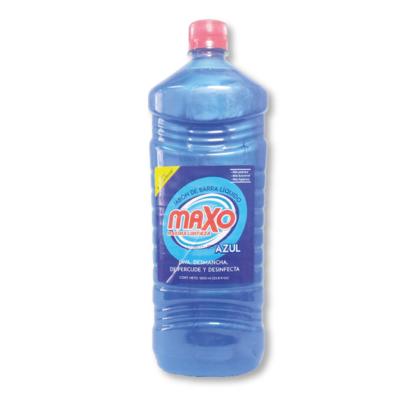 Jabón De Barra liquido Azul 1000ml Maxo