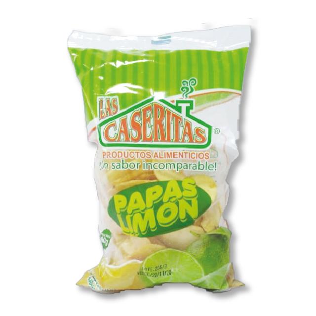 Papitas Limón Caseritas