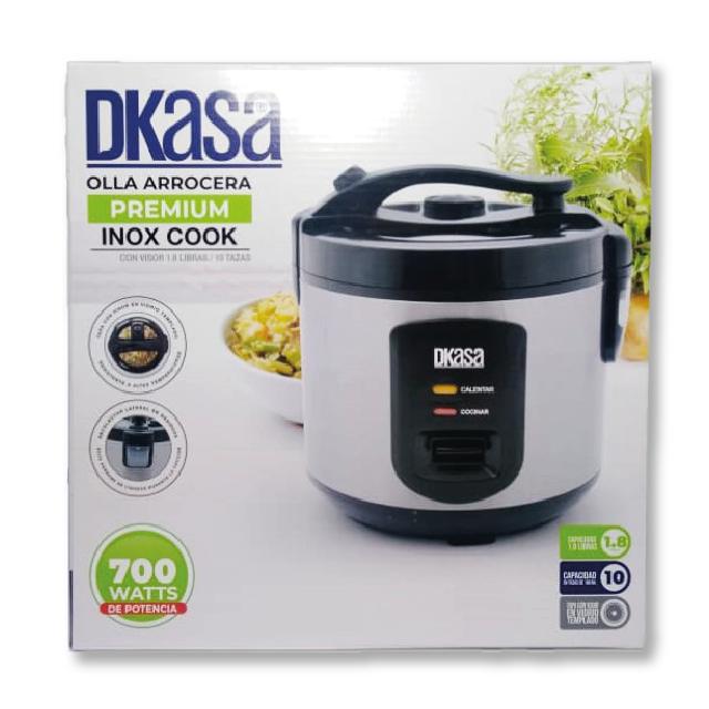 Olla Arrocera Premium Inox 1.8L Dkasa