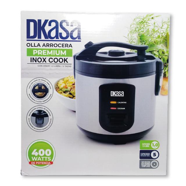Olla Arrocera Inox Cook 1L Dkasa