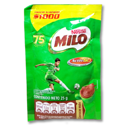 Sobre Milo 25g Nestle