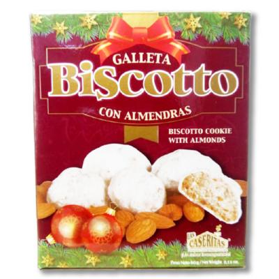 Galleta Biscotto con Almendras Las Caseritas