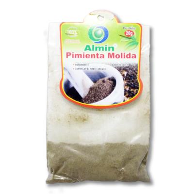 Pimienta Molida 20g Almin