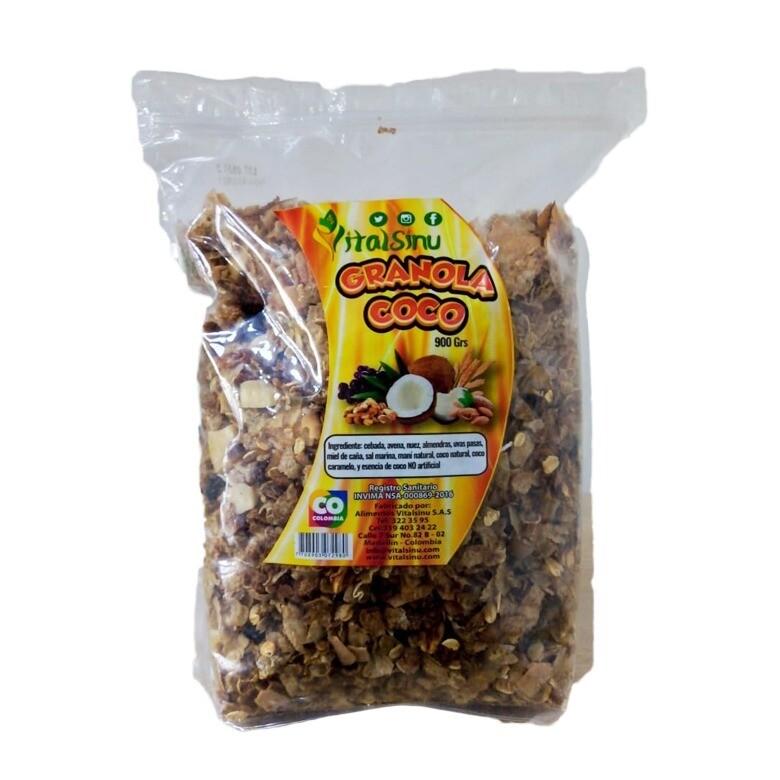 Granola Vitalsinú Coco