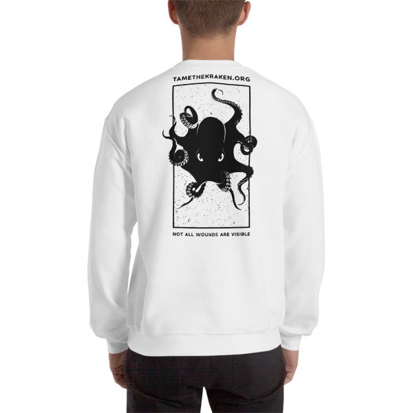 Invisible Wounds Sweatshirt (Light)